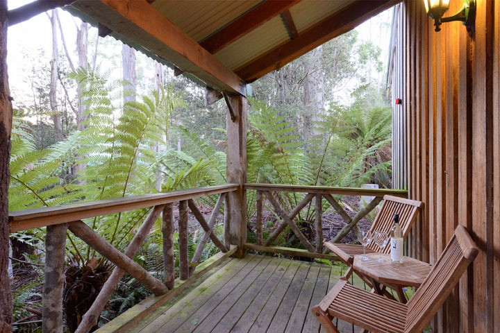 Family self-contained accommodation Tasmania
