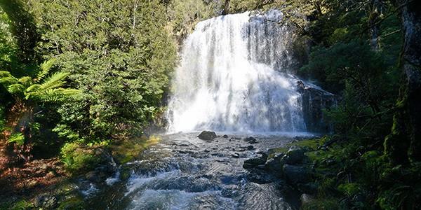 Remote Wilderness waterfall